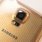 Samsung Galaxy S5 gold