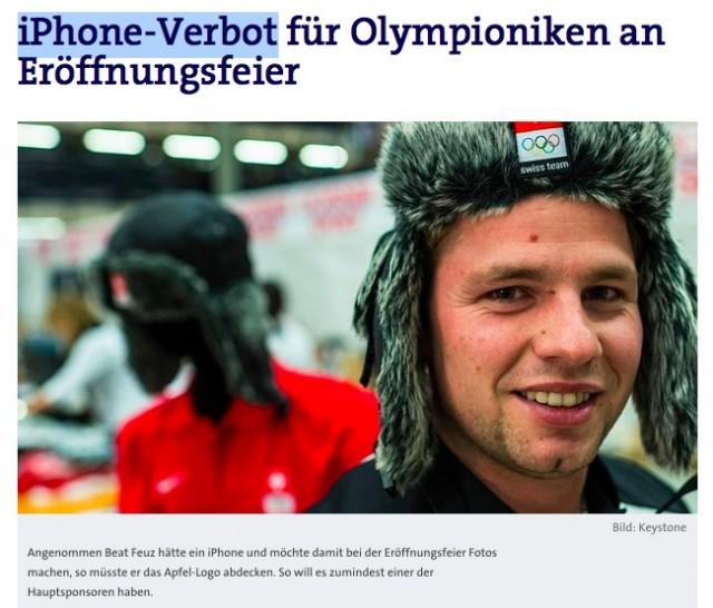 Sochi.iPhone.ban