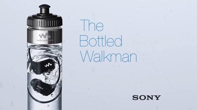 Sony The Bottled Walkman αδιάβροχο MP3 player