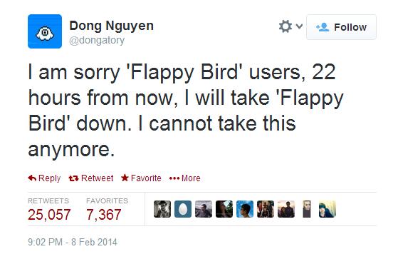 flappy bird twitter