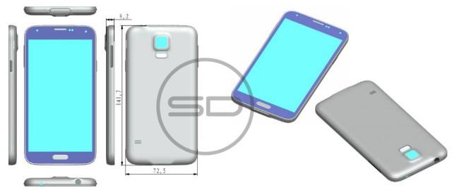 Samsung Galaxy S5 Sonny Dickson leak