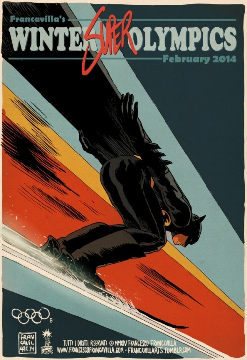 Francesco-Francavilla-The-Winter-SUPER-Olympics-Batman-500x727