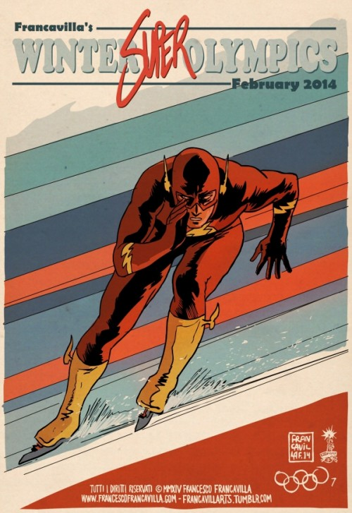 Francesco-Francavilla-The-Winter-SUPER-Olympics-Flash-500x727