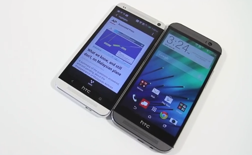 HTC One vs All New HTC One
