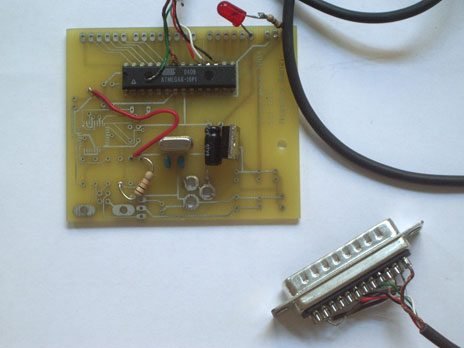 The First Prototype Arduino Board 2005