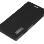 cellphones Rock Side Flip Case Elegant Series Nokia Lumia 925 Black
