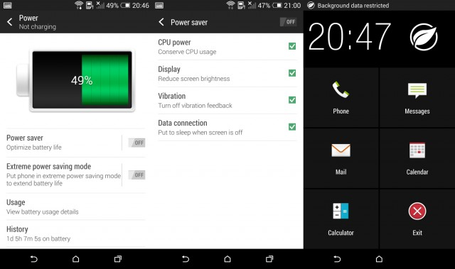 htc one m8 power saver