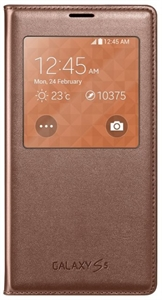Samsung S-View EF-CG900BF Galaxy S5 SM-G900 Rose Gold