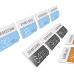 Samsung lineup_SD cards