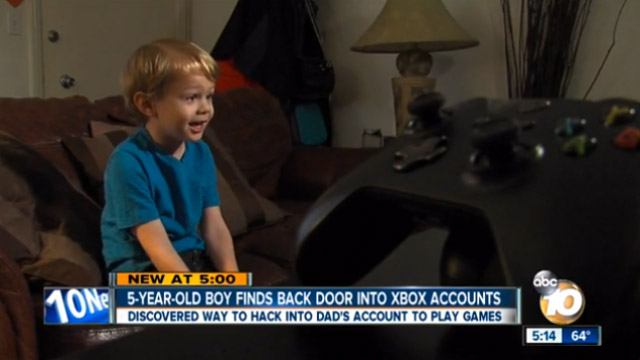 five-year-old-xbox-one-hacked