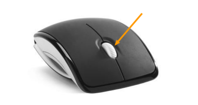 mouse middle click