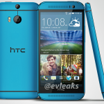 HTC One M8 Blue evleaks