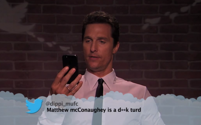 Matthew-McConaughey-mean-tweets