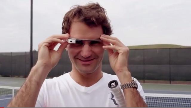 Roger-Federer-Google-Glass