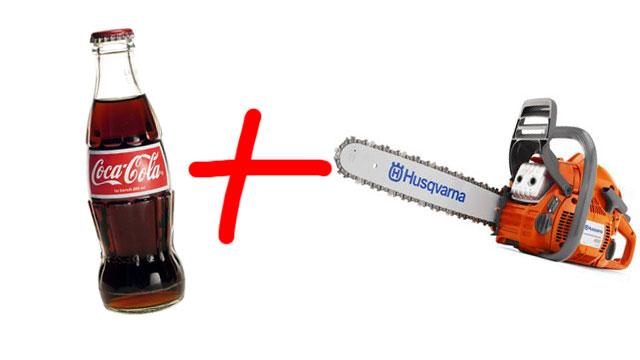 chainsaw-coca-cola