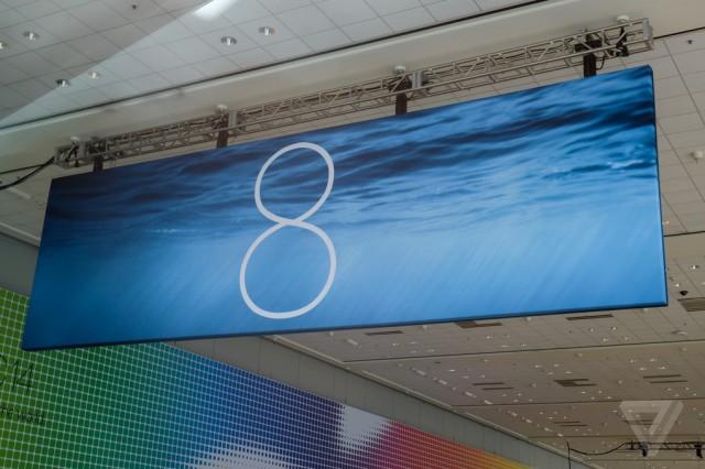 iOS 8 Moscone Center The Verge