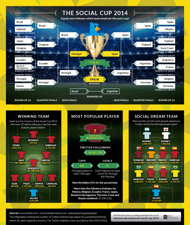 social media cup 2014 infographic