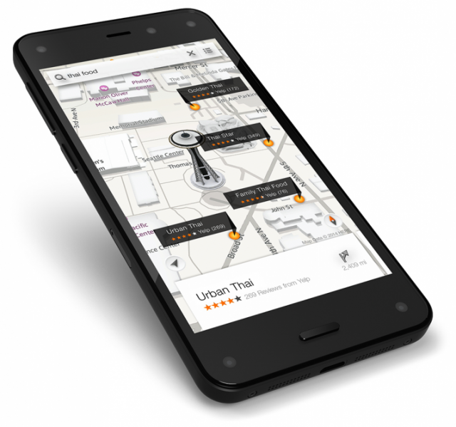 Amazon Fire Phone Maps