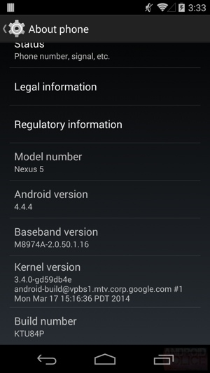 Android 4-4-4 GSM Arena