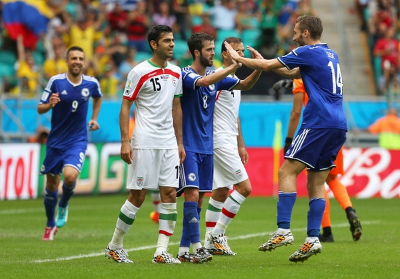 Bosnia-Herzegovina v Iran: Group F - 2014 FIFA World Cup Brazil