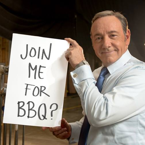 Francis Underwood -- bbq
