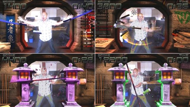 Teenage Mutant Ninja Turtles Kinect