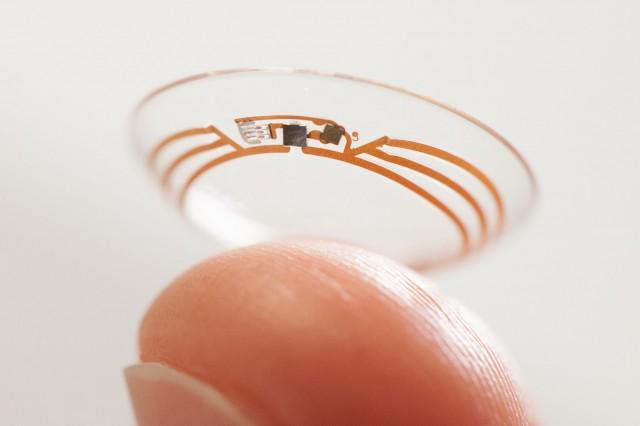 smart contact lenses google