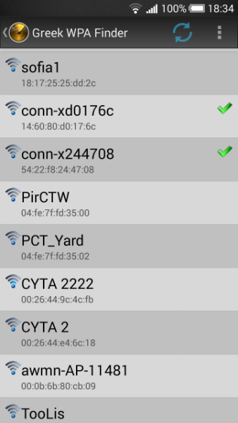 greek wpa finder for android