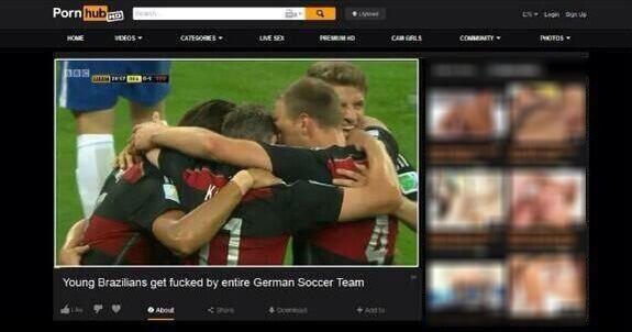 pornhub brazil germany