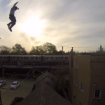 Epic Roof Jump Go Pro
