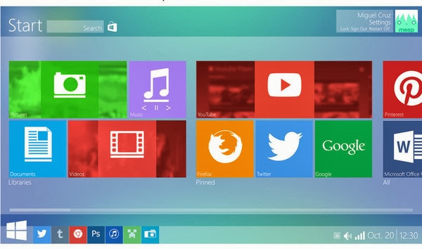 Windows 9 Picture Leaked