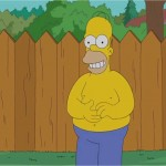 homer simpon takes the ice bucket challenge
