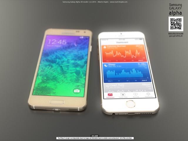 iphone-6-vs-samsung-galaxy-alpha