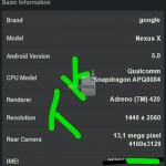 Nexus X θα ονομάζεται το Nexus 6 από Google και Motorola. Διέρρευσαν benchmarks