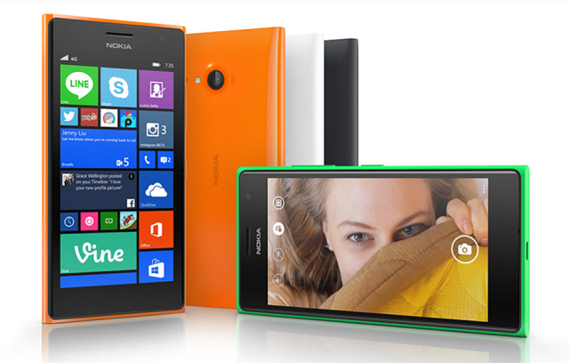 Nokia Lumia 730 Selfie Phone