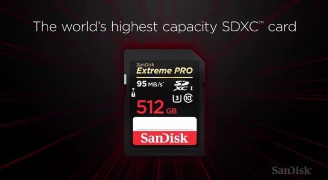 SanDisk Extreme Pro SD 512GB