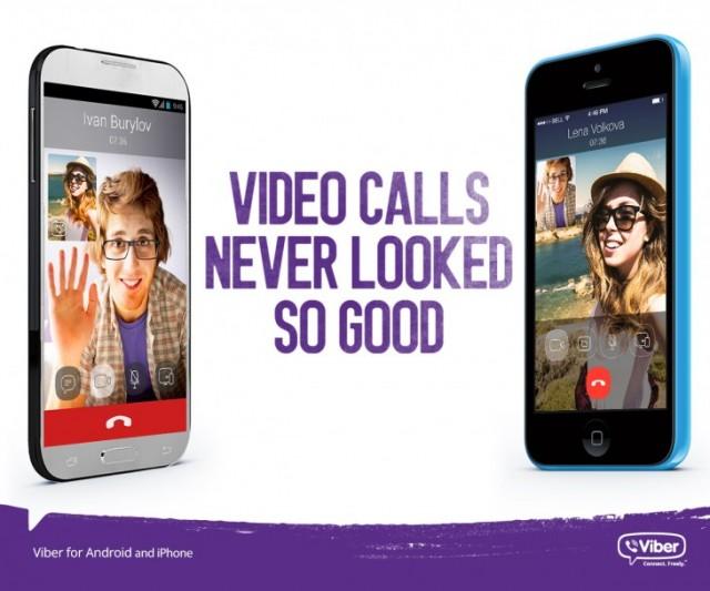 Viber-videocalls