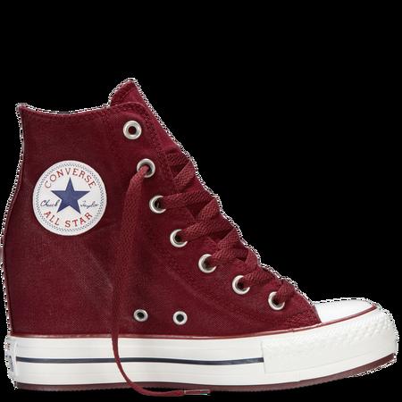 Chuck Taylor/Converse All Star wedge sneakers από καμβά με κέρινο φινίρισμα