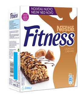 "Fitness bar ""Crunchy Caramel"" (Nestlé). Η 1η μπάρα δημητριακών ολικής άλεσης με κομμάτια τραγανής καραμέλας με μόλις 89 θερμίδες!"
