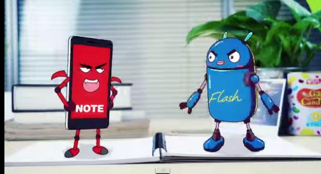 flash-vs-note