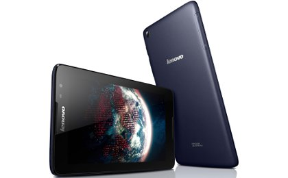 Lenovo Tab A8-50 με οθόνη 8 ιντσών LCD IPS, τετραπύρηνο επεξεργαστή, 1GB μνήμης RAM και κάμερα 5 Megapixel στην πίσω όψη για φωτογραφίες και βίντεο και κάμερα 2 Megapixel στην μπροστά όψη, ιδανική για βιντεοκλήσεις και λοιπές εφαρμογές.