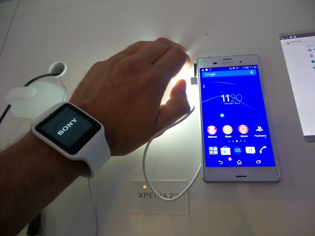 Sony Smartwatch 3 hands-on [IFA 2014]