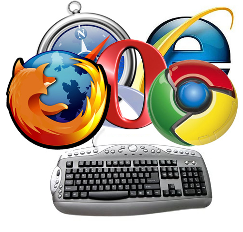 web browsers shortcuts