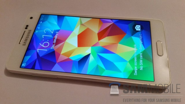 Galaxy A5 leaked
