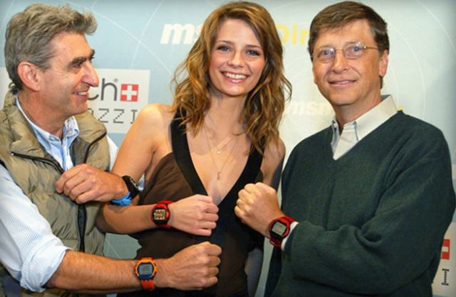 SPOT smartwatch 2004
