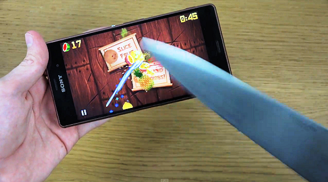 sony-xperia-z3-fruit-ninja-cuttare