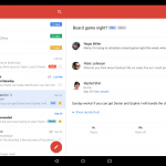 Gmail Blog Tablet image