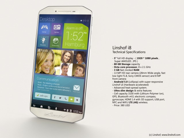 Linshof-i8-specs