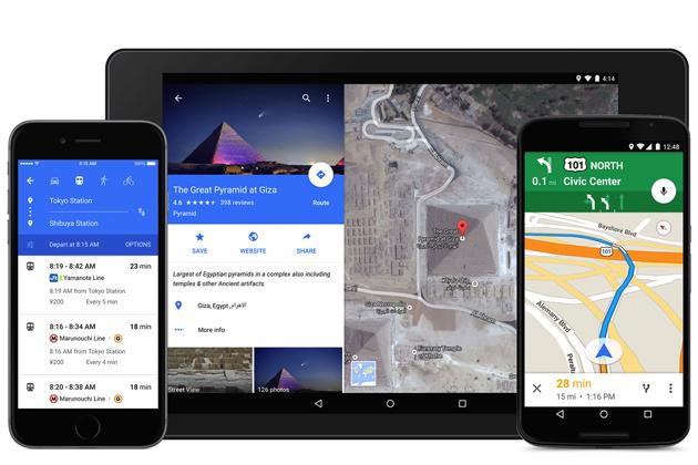 google-maps-material-design