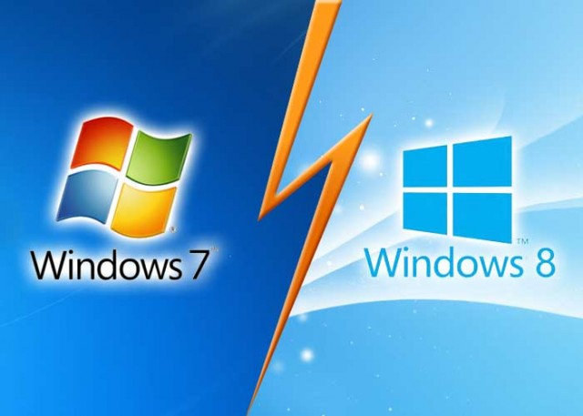 windows 7 and windows 8